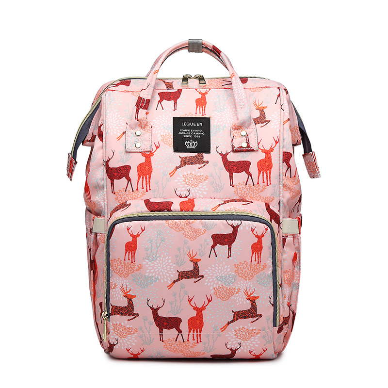 Maman sac mode multifonctionnel grande capacité Portable maman sac Portable maman sac bébé sacs sac à langer sac à dos