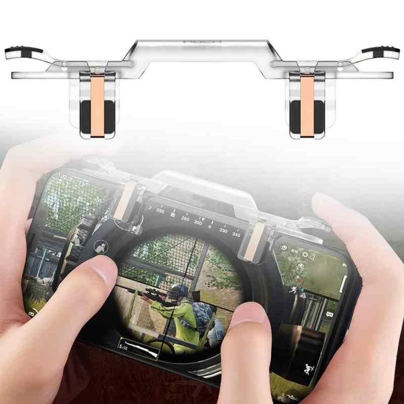 2019 Recentemente Gamepad PUBG Mobile Controller di Gioco Del Telefono di Gioco Joystick Fuoco Pulsante a Scatto Obiettivo Chiave Shooter Gioco Pad Maniglia