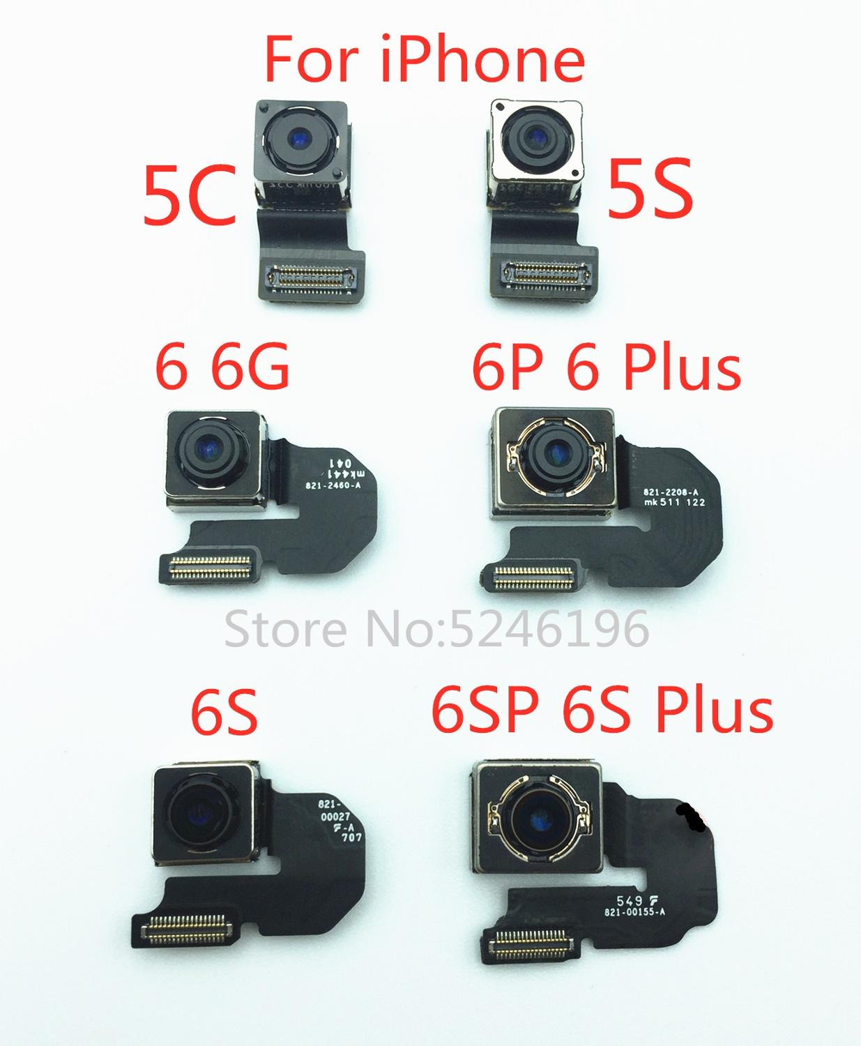 Original Big Camera Rear Camera Back Camera Module Flex Cable For IPhone 5C 5S 6 6S Plus 6Plus Replacement Repair Parts。