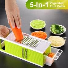 Coupe-légumes multifonctionnel, accessoires de cuisine, éplucheur de fruits, pommes de terre, râpe à carottes, Mandoline, Gadgets de cuisine