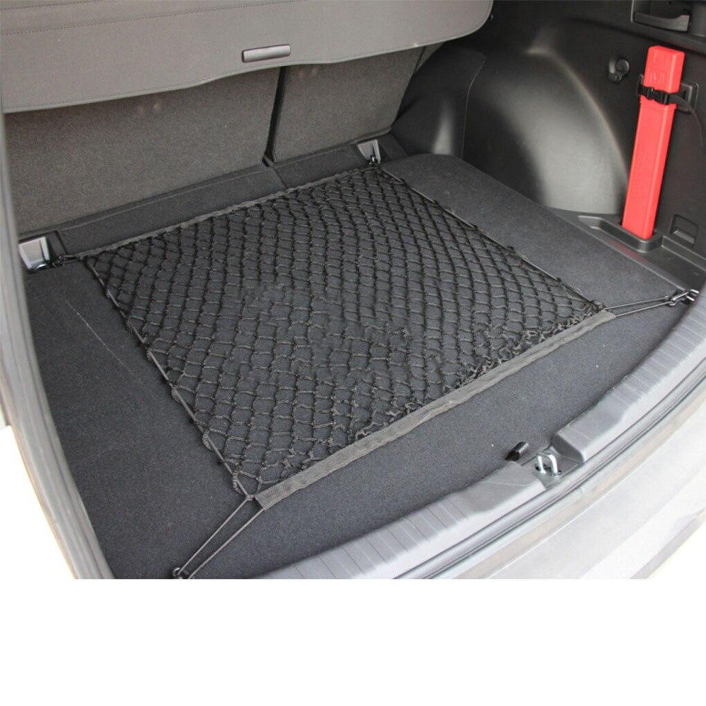 Прочная сетка для хранения в багажнике автомобиля, эластичная сетка 70*70 см