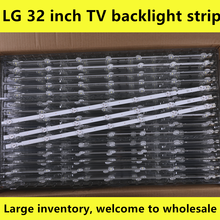 Tira Retroiluminação LED para LG 32 ''ROW2.1 Rev TV 32ln541v 32LN540V 32ln541u 6916L-1437A 6916L-1438A 6916L-1204A 6916L-1426A 7-LEDs(China)