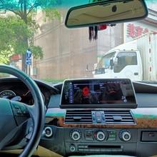 BMW 5 serisi için E60 2004 2009 Android 10.0 4 + 64G araba multimedya oynatıcı kafa ünitesi otomatik stereo radyo teyp GPS navigasyon