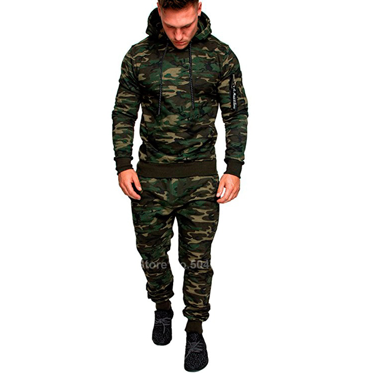 Camouflage Military Uniform 2019 News Army Suit Combat Shirt Tactical Clothing Airsoft Hodded Sweatshirs Pants Outdoor M-3XL
