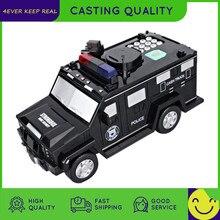 Banco de juguete de música inteligente para niños, alcancía con contraseña, billetes, coche banco de moneda, juguete para juego de imitación, regalo de Navidad
