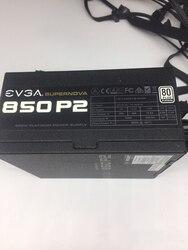 Б/у оригинальный 80 плюс Бронзовый 850BQ Номинальный 850 Вт полумодуль бесшумный источник питания 14cmTNB подшипник вентилятор