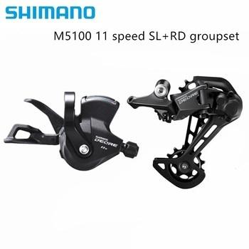 Shimano Slx M7000 Deore M5100 11 Speed Mtb Fiets Speed Trigger Shifter + Achterderailleur Gs Sgs
