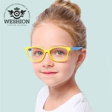 Анти-синий светильник, блокирующие детские очки для мальчиков и девочек, детская оптическая оправа, прозрачный фильтр для очков, уменьшает цифровое напряжение, UV400