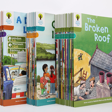 English-Story-Picture-Book 40-Books Oxford Reading Child 7-9-Level Phonics Tree-Richer