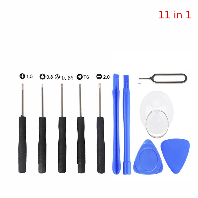 21 in 1 Mobile Phone Repair  Kit Spudger Pry Opening Lcd Tool Screwdriver Set for iPhone X 8 7 6S 6 Plus 11 Pro XS Hand Tools 2