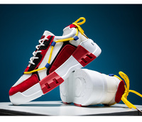 남성 두꺼운 솔리드 캐주얼 신발 2021 통기성 메쉬 캠퍼스 레저 착용 내성 및 충격 흡수 패션 소프트 솔리드 신발