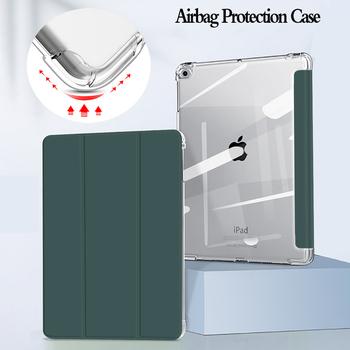 Dla iPad 10 2 Case 7 8 Generacji Capa iPad Air 4 Case 2020 iPad Pro 11 2021 Case 10 5 Air 3 2019 Mini 5 9 7 6th Case tanie i dobre opinie HAIMAITONG Powłoka ochronna skóry CN (pochodzenie) Stałe Dla apple ipad BIZNESOWY wodoodporne odporne na wstrząsy Odporne na upadki
