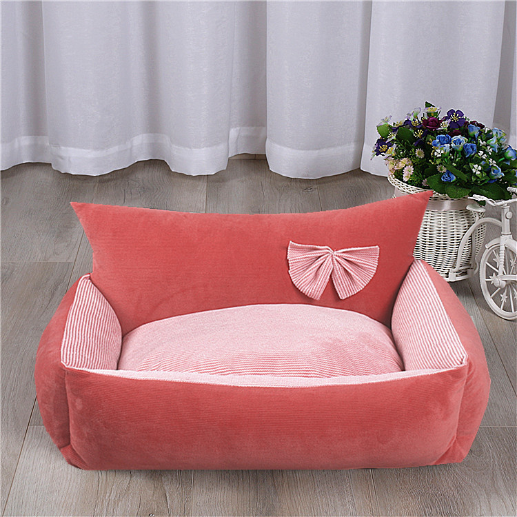 Dog Bed Warm Soft Pet Cushion For Dog Best Pet House Cat Calming Bed New Dog Bed Washable Pet Sofa Mat Dog sleeping bag 11