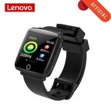 Lenovo นาฬิกาสมาร์ทสายรัดข้อมือ 1.3 นิ้ว 2.5D หน้าจอ IPS IP68 กันน้ำลึกสภาพอากาศจอแสดงผลการตรวจสอบอัตราการเต้นของหัวใจนาฬิกา