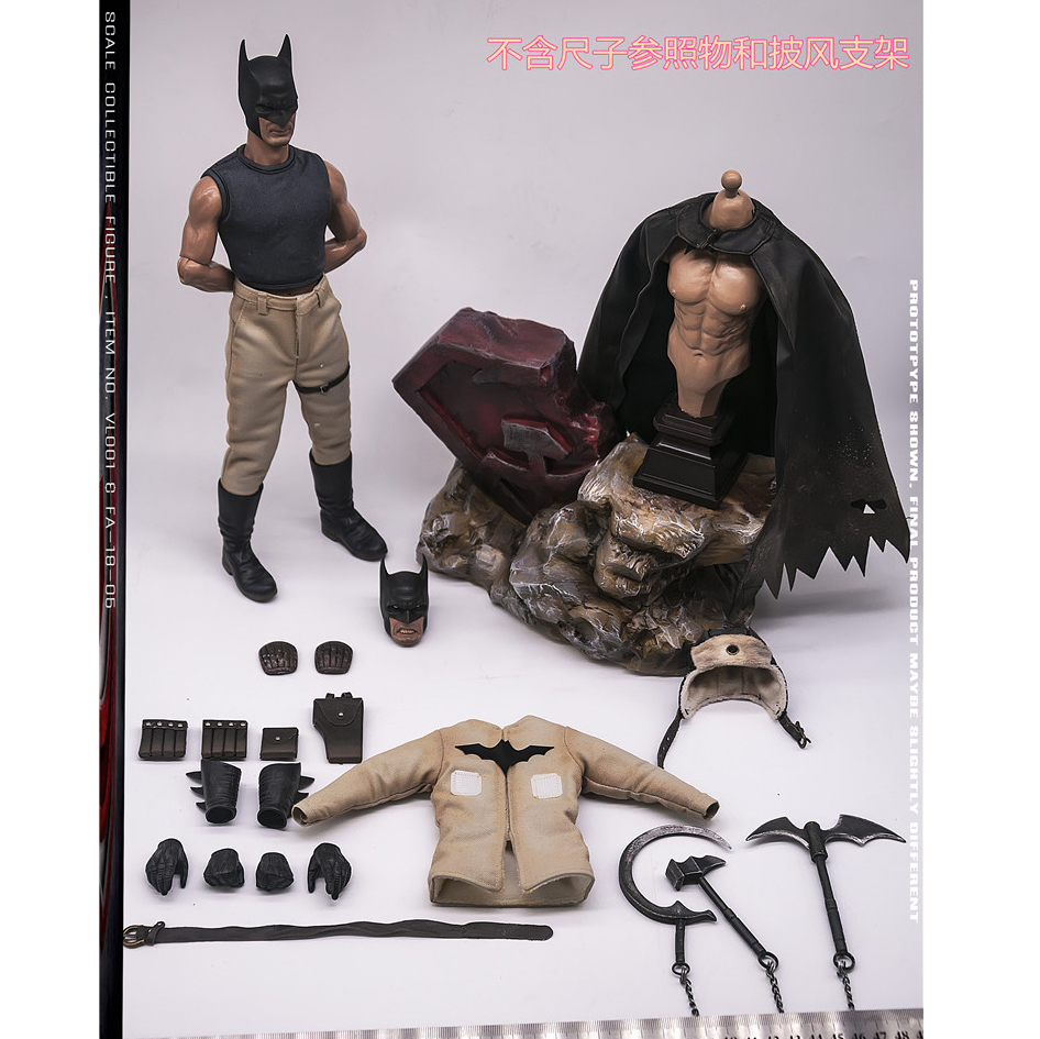 Knee Pads for FASToys FA-19-05 1//6 Scale Action Figure New