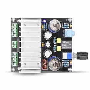 Image 3 - XH A202 12V TDA7388 أربعة قناة 4x40 W الصوت الطاقة مُضخّم صوت مجلس ستيريو preamp الصفراء عازلة سيارة أمبير aplificador