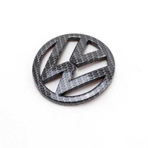 emblema para porta malas de fibra carbono