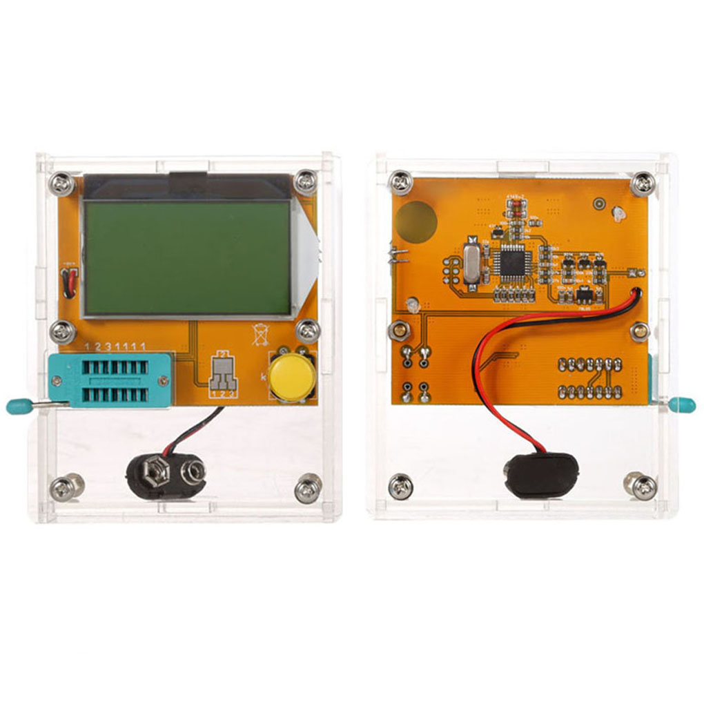 New Multifunctional LCD Display ESR Transistor Tester  Resistor Inductor Capacitor SCR Mos Tube Triode