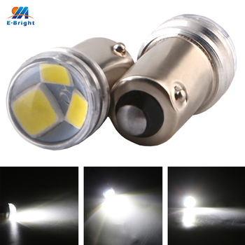 YM E-Bright 10PCS BA9S 2835 3 SMD T11 T4W Auto Reverse LED Car Motorcycle Lights 12V DC White Blue Red Green Amber Pink Ice Blue фото