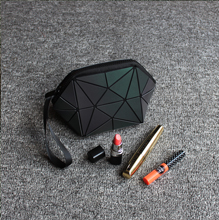 Wholesale Reflective Geometric Cosmetic Bag For Women