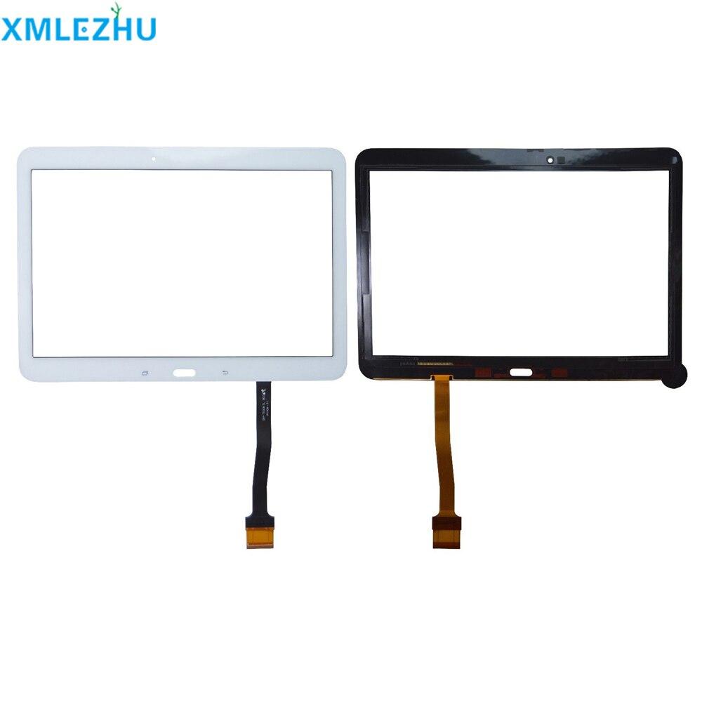 10 шт. для samsung Galaxy Tab 4 10,1 T530 T531 T535 сенсорный экран дигитайзер панель Стекло Объектив T530 ЖК передний Датчик Замена