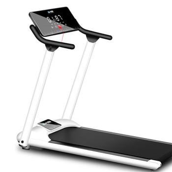 Cinta de correr plegable Mini Fitness Home equipo para ejercicio interior multifuncional gimnasio casa plegable Fitness correr cintas de correr