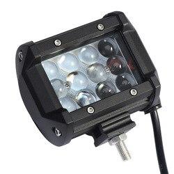 36 w4djeep светильник внедорожный модифицированный атмосферный авто светильник светодиодный рабочий светильник и светильник синий