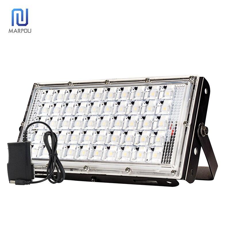 diodo emissor de luz holofote 100 w de alta potencia construido na bateria usb carregador rapido