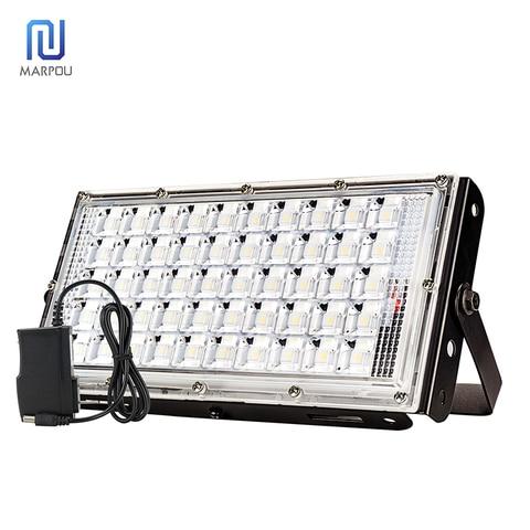 diodo emissor de luz holofote 100 w de alta potencia construido na bateria usb carregador