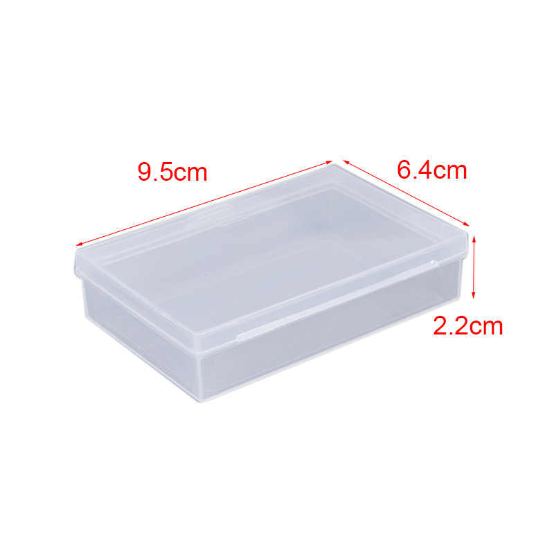 Transparante Plastic Dozen Speelkaarten Container Pp Storage Case Verpakking Poker Game Card Box Voor Poken Set Board Games