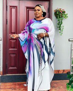 Image 4 - Länge 150cm 2 Stück Set Afrikanische Kleider Für Frauen Afrika Kleidung Muslimischen Lange Kleid Länge Mode Afrikanischen Kleid Für dame