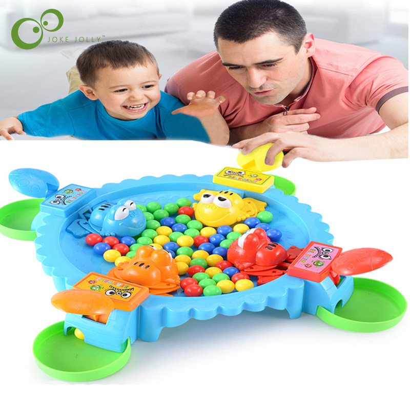 Funny Hungry Frogs Educational Toy Creative Desktop Interactive Game Beads Feeding Toy Kid Gift Puzzle Parent-Child Game Toy ZXH