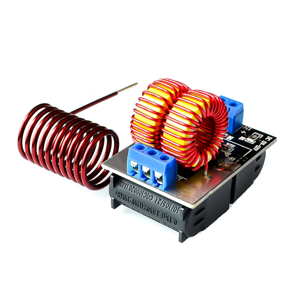 ZVS Low Voltage Induction Heating Power Supply Module DC 5-12V ZVS Driver Induction Heat Board For induction Heating With Coil