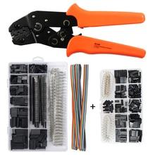 SN-28B dupont crimping tool crimper pliers with 1550PCS+620PCS dupont JST Connector jst crimp tools hand tool set sn 01bm crimp tool for jst zh1 5 2 0ph 2 5xh eh sm