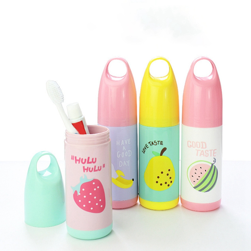Travel Portable Toothbrush Storage Box Case Toothbrush Holder Toothpaste Towel Cup Organizer Toothbrush Box Container H1
