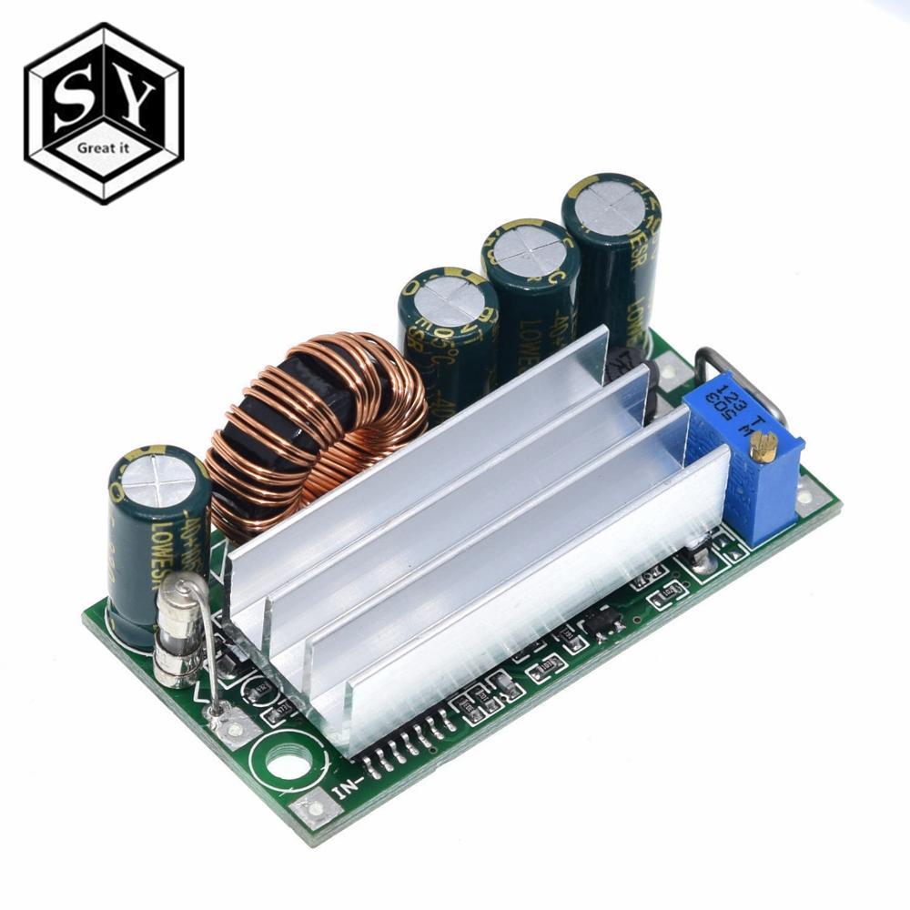 Автоматический понижающий источник питания постоянного тока GREAT IT AT30, преобразователь, понижающий модуль, замена XL6009 от 4 до 30 В до 0,5-30 в