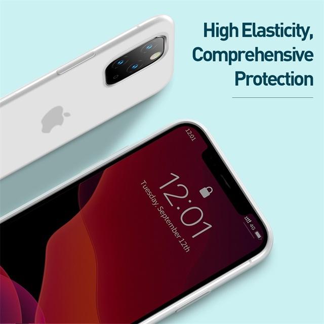 Baseus iPhone 11 Pro Max Liquid Silicone Back Case Cover