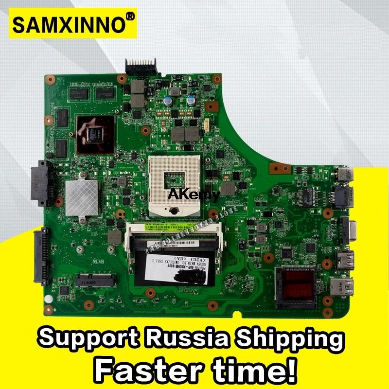 K53SV Motherboard REV:3.0/3.1 For ASUS K53SV A53S K53S X53S P53S K53SC K53SJ K53SM Laptop Motherboard 4pcs Video Memory
