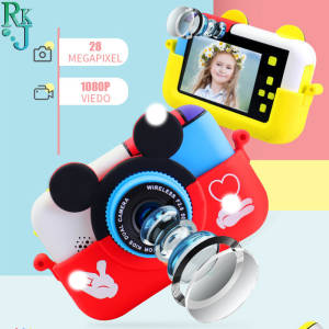 Digital-Camera Video-Selfie Mini SLR Children Ips-Screen 1080P Mic Birthday-Gift