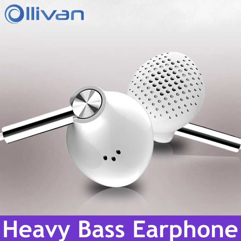 OLLIVAN 6D Gaming Headset In-Ear Sport Earphone Wired Super Bass 3.5mm Crack Headset Earbud With Microphone Bass Stereo Earbuds