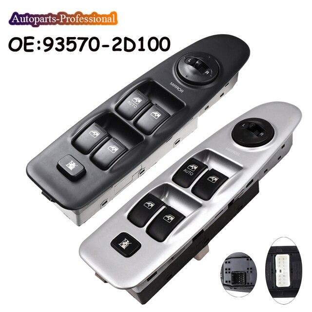 Nieuwe Auto Linksvoor Elektrische Master Schakelaar Ruitbediening Controle Fit Voor Hyundai Elantra 2001 2002 2003 2004 2005 2006 93570 2D100