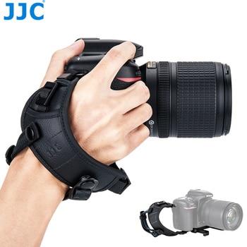 цена на JJC HS-ML1M Adjustable Hand and Wrist Strap for Canon Nikon Sony Fujifilm Olympus Pentax Panasonic Holds Cameras With Lens