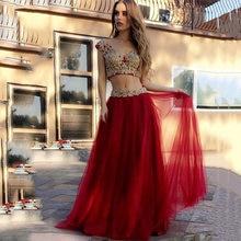 Платье для выпускного вечера с v образным вырезом золотистым