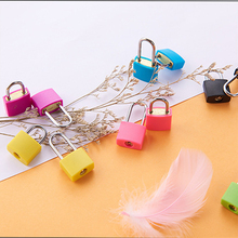 Travel-Lock Strong-Steel Mini Suitcase Security-Tool 2-Keys with Luggage Long-Beam Colourful