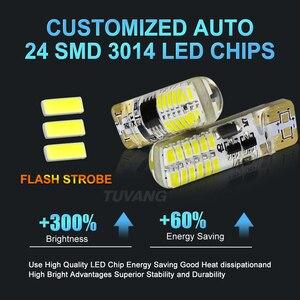 Image 2 - Luces estroboscópicas intermitentes T10 194 W5W 22 Led 3014SMD T10, brillo duradero, Flash estroboscópico automático, dos modos de funcionamiento, bombillas para coche, 2 uds.