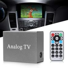 Универсальный мини DVB Автомобильный DVD мобильный аналоговый приемник для телевизора тюнер Автомобильный монитор PAL NTSC тюнер с антенной