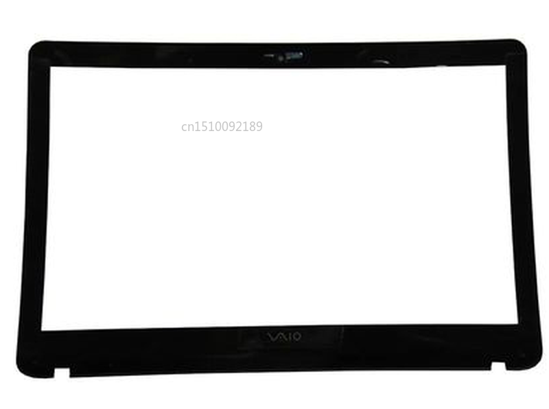 Free Shipping B Cover For Sony Vaio SVF151 SVF152 SVF153 LCD Front Cover Bezel Frame 4HHK9BHN000 For Non-Touching Screen