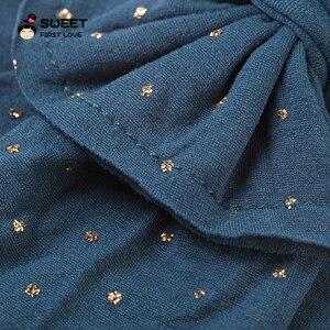 Image 3 - Милые детские повязки на голову, эластичная простая повязка на голову, тюрбан для девочек, оптовая продажа, резинки из мягкой ткани, головной убор с бантом, аксессуары для волос для детей