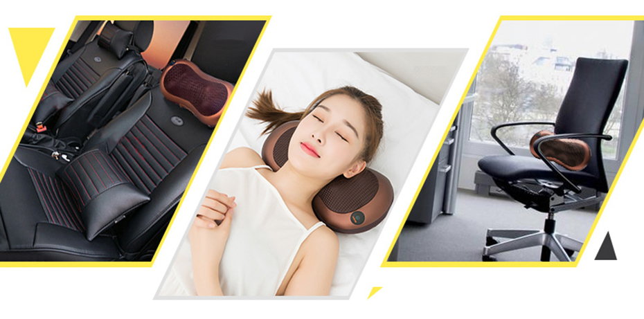 Cellulite Electrical Shiatsu Back Neck Shoulder Massager And 4D Kneading Body Spa With Infrared Heating 2