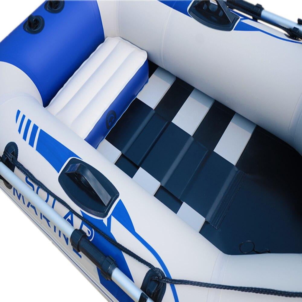 1 personne 175cm bateau à rames gonflable bateau Kayak canoë à la dérive radeau dériveur Hovercraft pêche en plein air plongée surf voile - 3